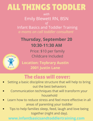 Flyer for September 20th with teaching points